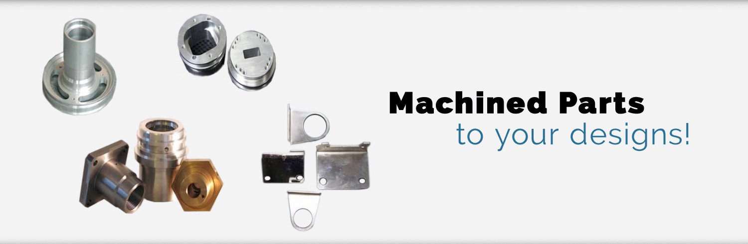 Machined Parts - To Your Designs